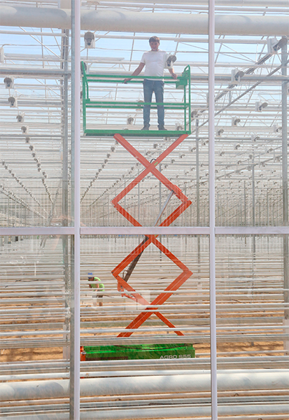 Trolley for greenhouses WALZMATIC AGRO S55