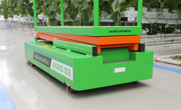 Trolley for greenhouses WALZMATIC AGRO S3